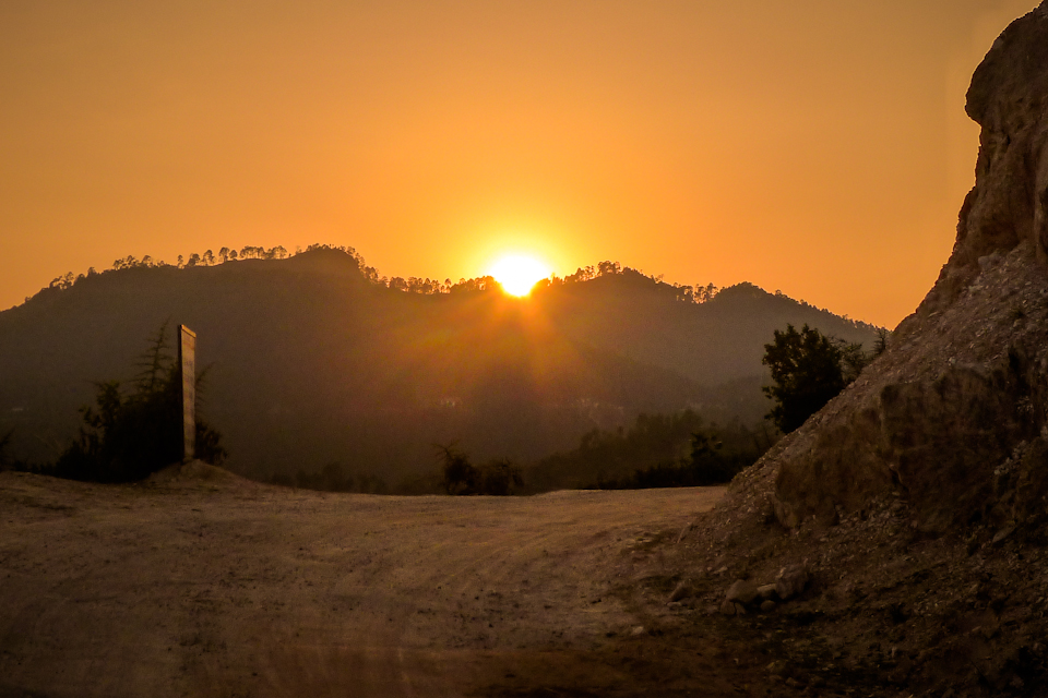 Kanda sunset